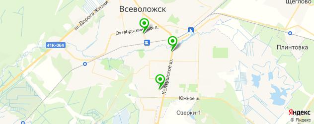 СПА салон на карте Всеволожска