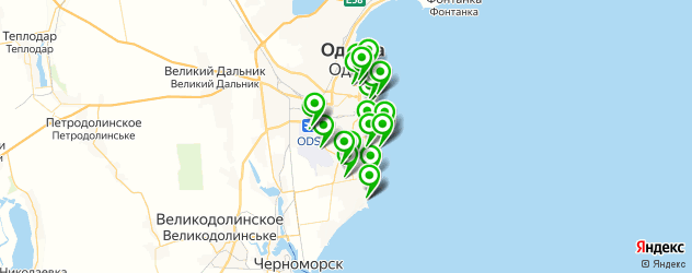 рестораны с живой музыкой на карте Одес