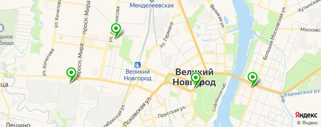 квесты на карте Великого Новгорода