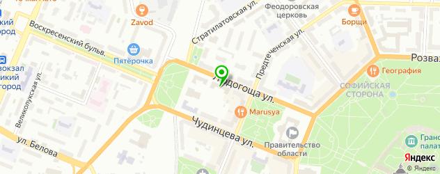 СПА отель на карте Великого Новгорода