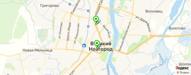 центры эстетической медицины на карте Великого Новгорода