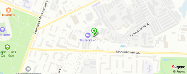 боулинги на карте Великого Новгорода