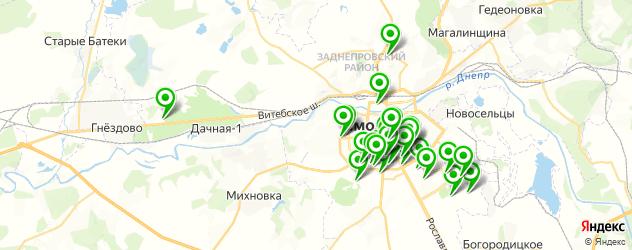салоны красоты на карте Смоленска