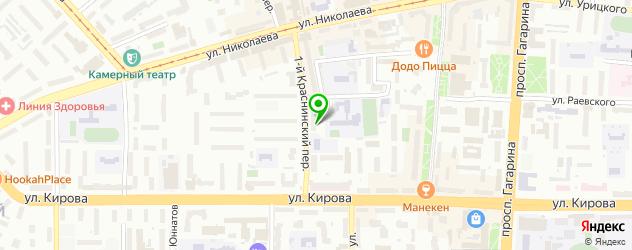 санатории на карте Смоленска