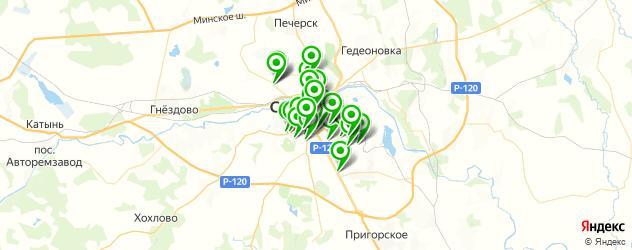 меховые ателье на карте Смоленска