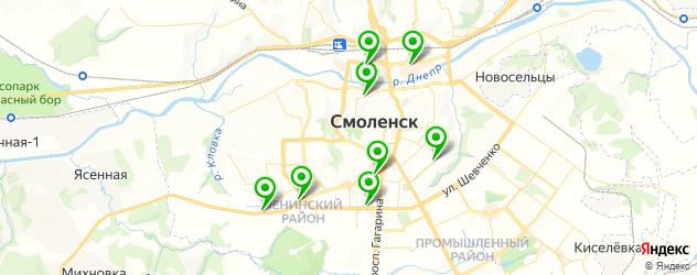 детская игровая комната на карте Смоленска