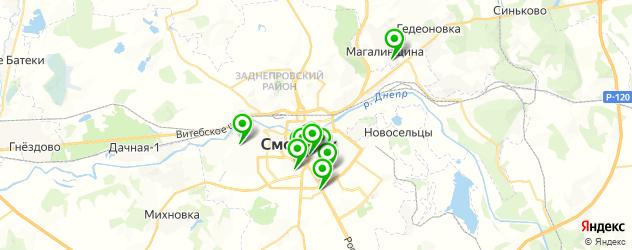 музеи на карте Смоленска