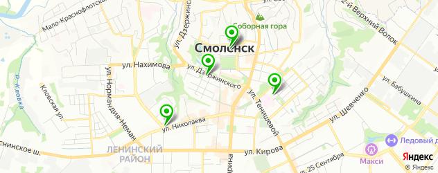 театры на карте Смоленска