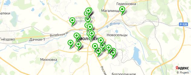 ломбарды на карте Смоленска