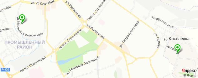клиники пластической хирургии на карте Смоленска