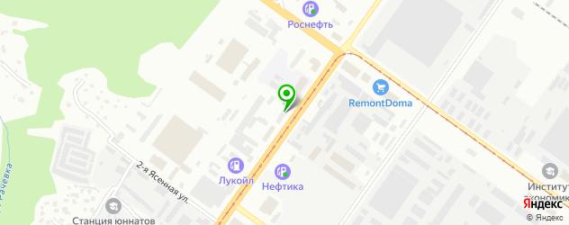 парковки на карте Смоленска