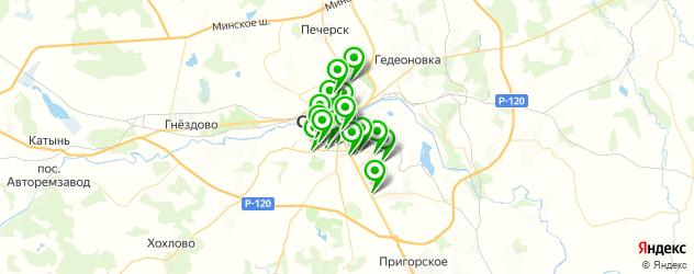 изготовления ключей на карте Смоленска