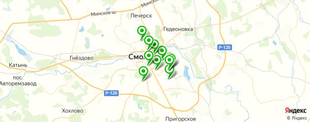 тюнинги-магазины на карте Смоленска