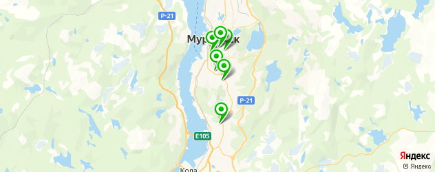 часовые мастерские на карте Мурманска
