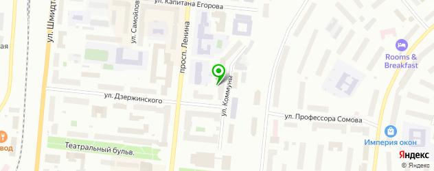 картинные галереи на карте Мурманска
