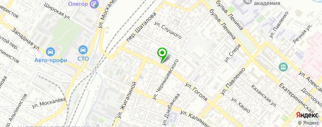 магазины автоаксессуаров на карте Симферополя