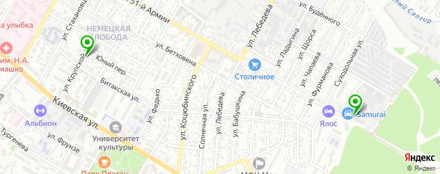 детейлинги центр на карте Симферополя