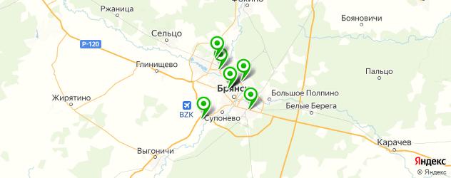 лицеи на карте Брянска
