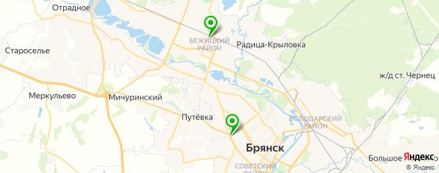 квесты на карте Брянска