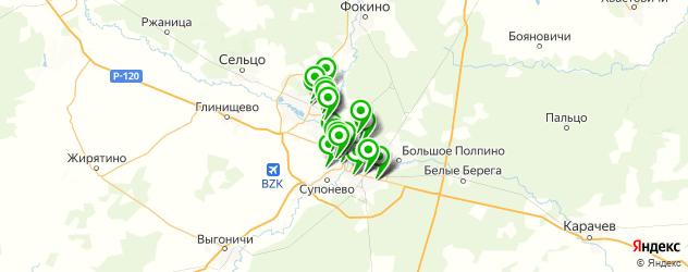кондитерские на карте Брянска