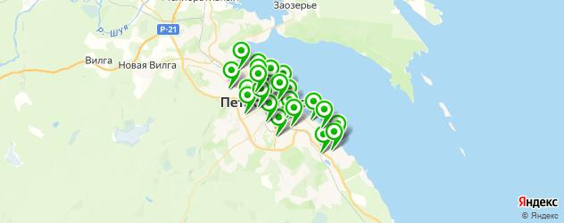 караоке на карте Петрозаводска