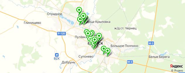 салоны красоты на карте Брянска