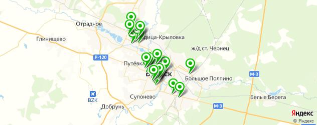 центры косметологии на карте Брянска