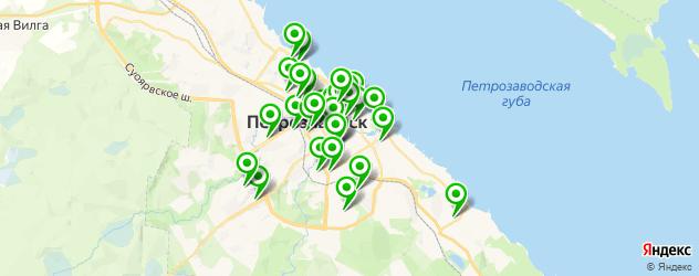 банки на карте Петрозаводска