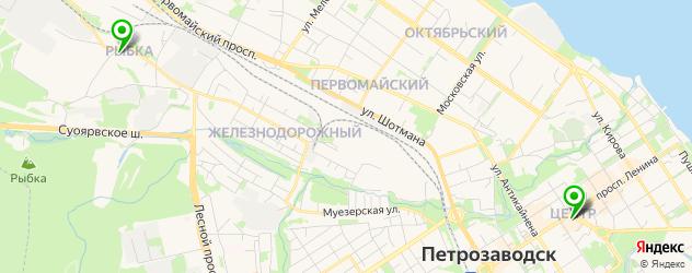 антикафе на карте Петрозаводска
