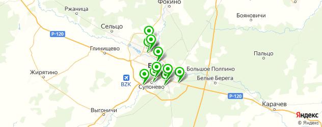 русские рестораны на карте Брянска