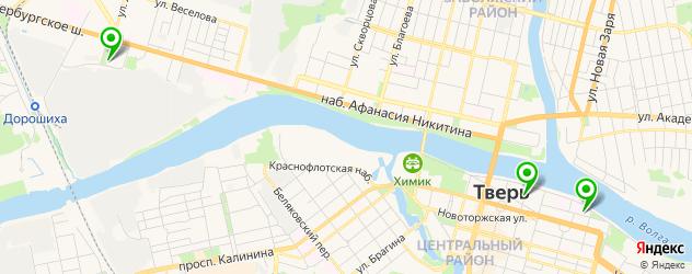 детские поликлиники на карте Твери