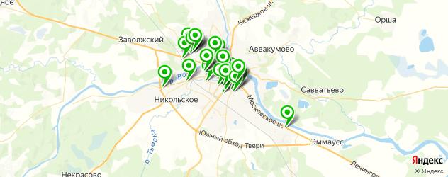 компьютерные помощи на карте Твери