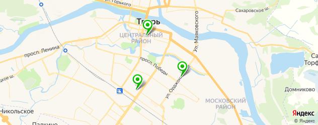 пекарни на карте Твери
