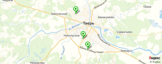 диагностика подвески на вибростенде на карте Твери