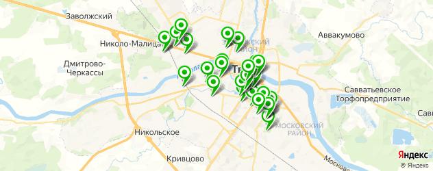 диагностические центры на карте Твери