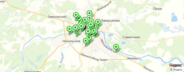 салоны оптики на карте Твери
