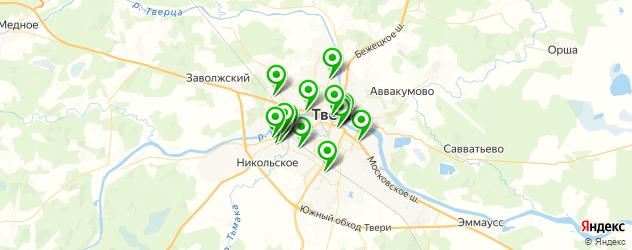 детские больницы на карте Твери