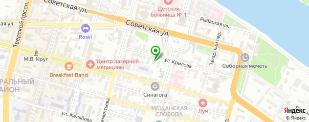 СПА отель на карте Твери