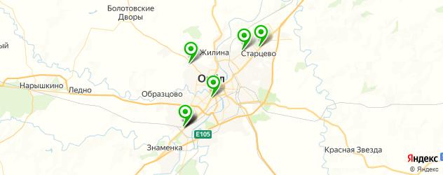 детские развлекательные центры на карте Орла