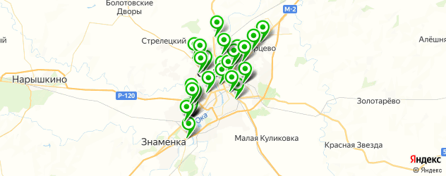 автосервисы на карте Орла