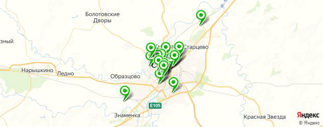 ВУЗы на карте Орла