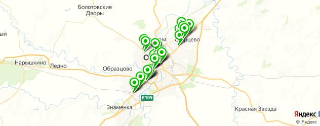 салоны оптики на карте Орла