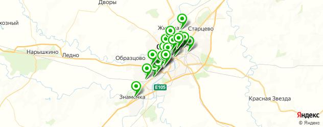 обувные мастерские на карте Орла
