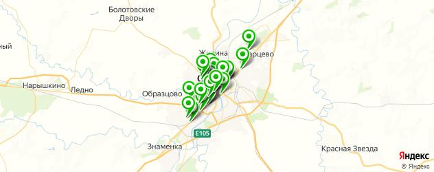 медицинские центры на карте Орла