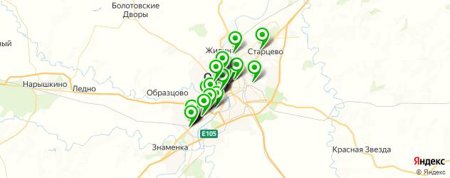 кондитерские на карте Орла