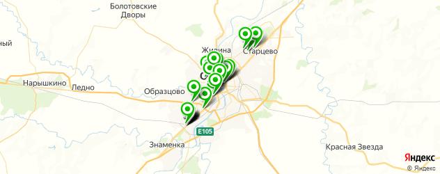 фасты фуд на карте Орла