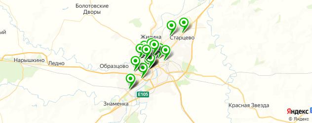пиццерии на карте Орла