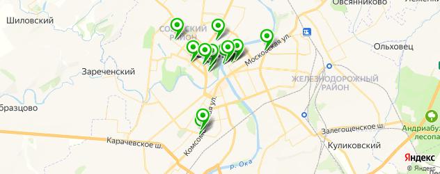 гиалуроновые инъекции на карте Орла
