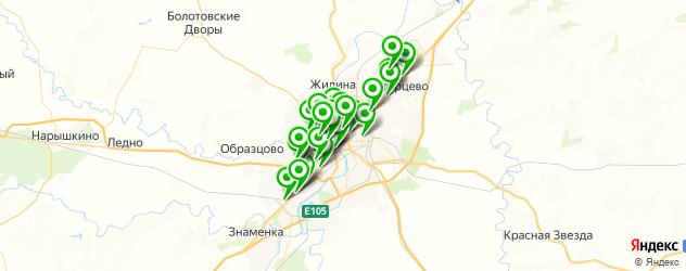 Доставка роллов на карте Орла