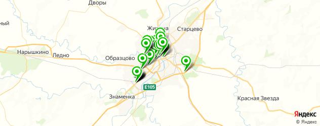 рестораны для свадьбы на карте Орла